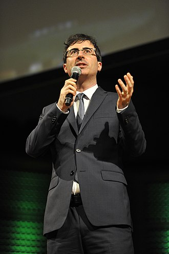 John Oliver - Oliver speaking at the 2014 Crunchies
