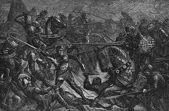 Henry Percy, 3rd Earl of Northumberland - John Quartley's 19th-century depiction of the Battle of Towton