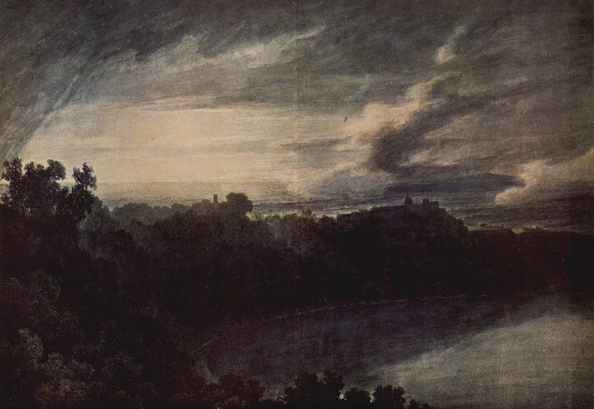 John robert cozens wikipedia for John s painting