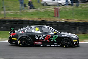 Next Generation Touring Car - Thorne driving for Thorney Motorsport at Brands Hatch in the 2012 BTCC season.