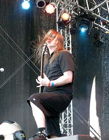 Jonas Björler, The Haunted, Metaltown 2009.jpg