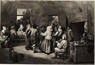 Dancers in a Tavern