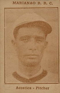 José Acosta (baseball) Cuban baseball player