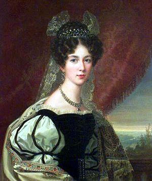Josephine of Leuchtenberg -  Josephine of Leuchtenberg as crown princess, by Fredric Westin.