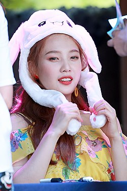Joy at a fansigning event on August 12, 2018.jpg
