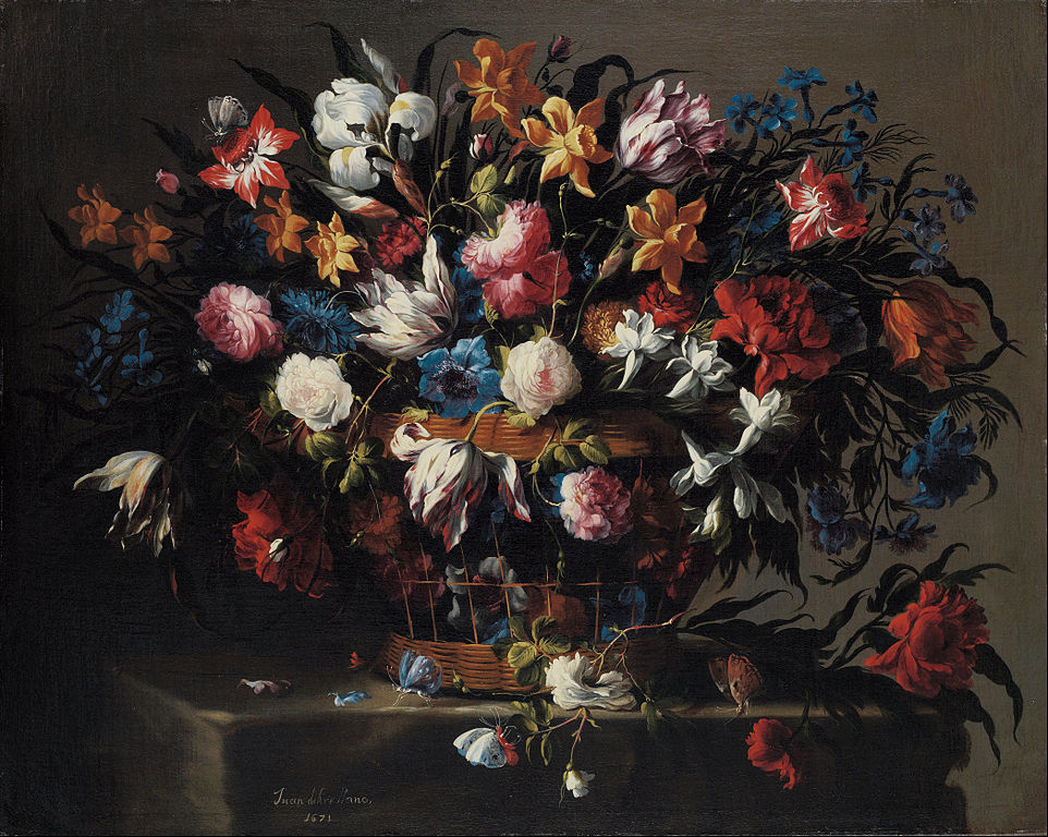 https://upload.wikimedia.org/wikipedia/commons/thumb/f/f6/Juan_de_Arellano_-_Small_Basket_of_Flowers_-_Google_Art_Project.jpg/962px-Juan_de_Arellano_-_Small_Basket_of_Flowers_-_Google_Art_Project.jpg