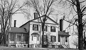 Canastota, New York - Judge Nathan Roberts House on NYS Route 5