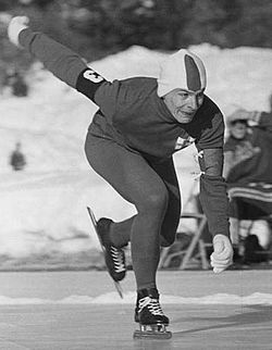 Juhani Järvinen - World Champion of Speed Skating, 1959.JPG