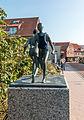 Juist, Skulptur -Strandläufer- -- 2014 -- 3645.jpg