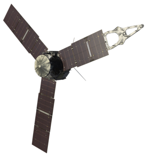 <i>Juno</i> (spacecraft) Second mission of the New Frontiers program; orbital interior and magnetosphere study of the planet Jupiter