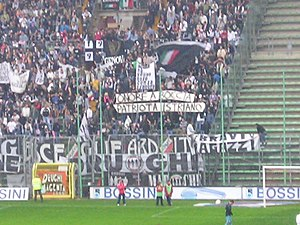 Triestina, Italy - some Juventus fans in 2006 ...