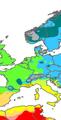 Köppen Map Europe 01.png