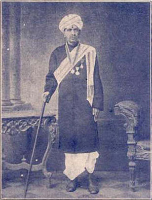 K. Krishnaswamy Rao - Portrait of Krishnaswamy Rao