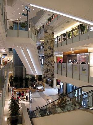 K11 (Hong Kong) - Atrium of K11 Shopping Centre in 2011