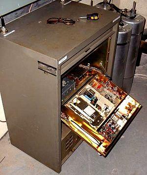 Amateur radio repeater - 2 Meter GE Mastr II repeater