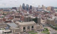 Kansas City Skyline from Liberty Memorial