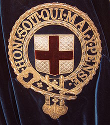 Image result for order of the garter symbol