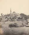 KITLV 100482 - Unknown - Minaret and mosque of the Qutb complex in Delhi, British India - Around 1870.tif