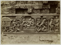 KITLV 28030 - Kassian Céphas - Relief of the hidden base of Borobudur - 1890-1891.tif
