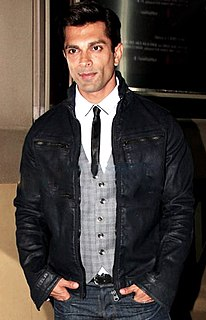 Karan Singh Grover Indian model, television and film actor