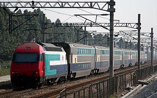 Guangzhou–Kowloon through train Chinese intercity rail service