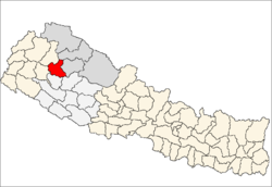 Location of Kalikot