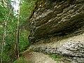 Kallaste cliff, Hiiumaa, 2009-07.jpg