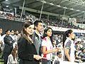 Kangna Ranaut, Ashish Chowdhry, Shreya Saran, Genelia Dsouza at CCL 2 in Sharjah (1).jpg