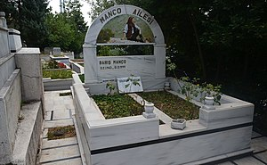 Barış Manço - The grave of Barış Manço at Kanlıca Cemetery in Kanlıca, Istanbul.