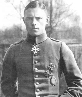 Karl Allmenröder German World War I flying ace