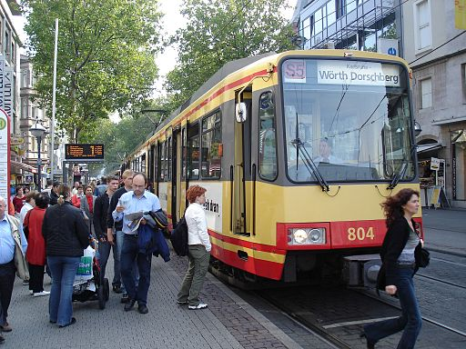 Karlsruhe Zweisystemstraßenbahn