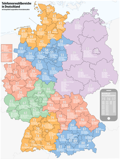 Telephone numbers in Germany Wikipedia list article