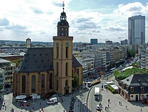 St. Catherine's Church, Frankfurt - Katharinenkirche in Frankfurt am Main.