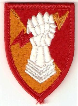 38th Air Defense Artillery Brigade (United States) - Shoulder sleeve insignia