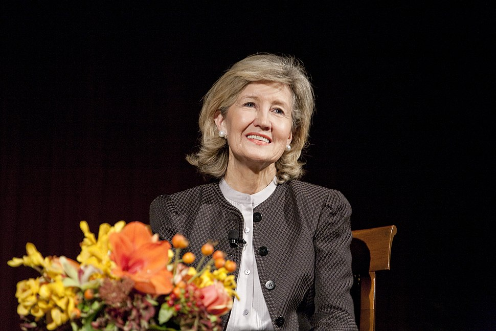 Kay Bailey Hutchison at the LBJ Library, 2012