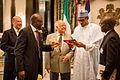Kayode Soyinka and President Muhammadu Buhari.JPG