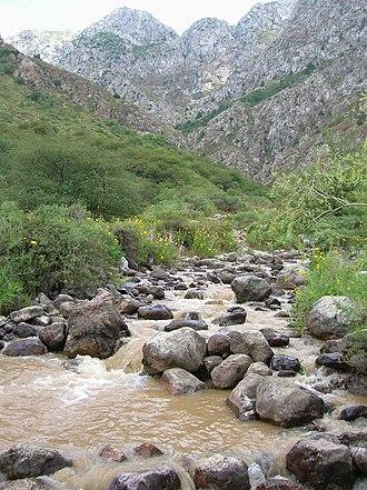 Turkistan Region - Image: Kazakh Mountains