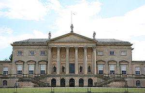 Kedleston Hall - Kedleston Hall, the corps de logis