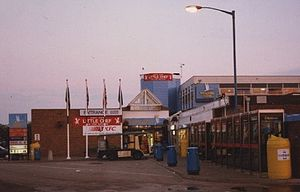 Motorway service area - Keele services on the M6 run by Welcome Break in 1996