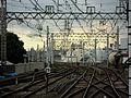 Keihan Kayashima Station platform - panoramio (7).jpg