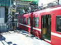 Keikyu-railway-main-line-Umeyashiki-station-doorcut-20081119.jpg