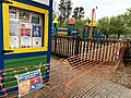 Kelly Road Park playground, Apex, NC, shuttered for Covid-19.jpg