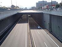 Ken-O expressway Ome tunnel 20100425.jpg