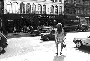 Kensington Market, London -  Kensington Market in the 1980s