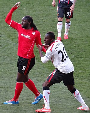 Kenwyne Jones - Image: Kenwyne Jones, Aly Cissokho 2014