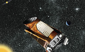 English: Kepler (spacecraft) . Artist's concep...
