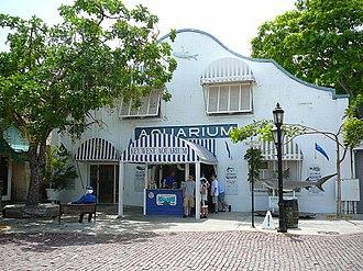 Key West Aquarium - Front of the aquarium