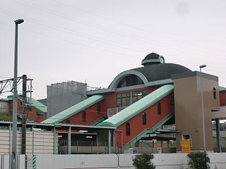 Keyakidai Station Railway station in Kiyama, Saga Prefecture, Japan