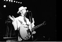 Kid Creole in concert in 1987