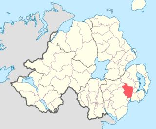 Kinelarty Place in Northern Ireland, United Kingdom
